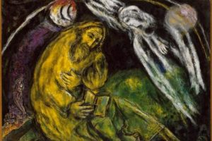 Prophet Jeremiah by Marc Chagall