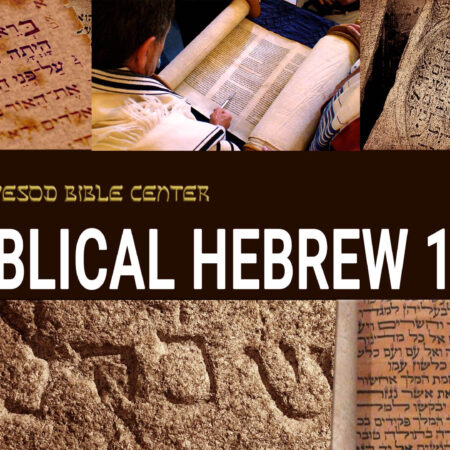 BIBLICAL HEBREW 101